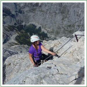 Klettern zur Alpspitze