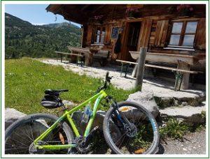 Mountainbiketour zur Kuhalm